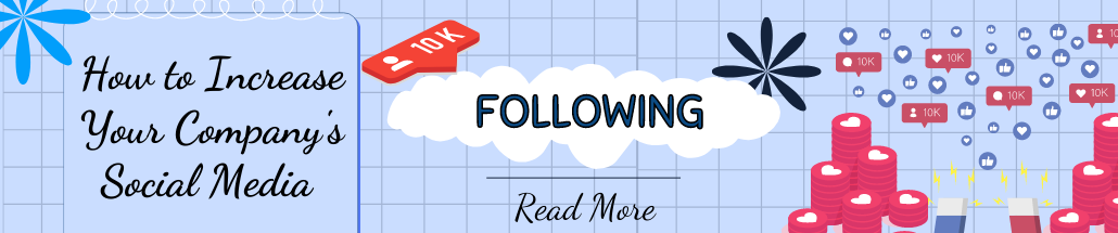 How to Increase Your Company's Social Media Following