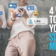 Four Ways to Boost Your Social Media